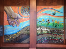Artwork in the FBEM lobby